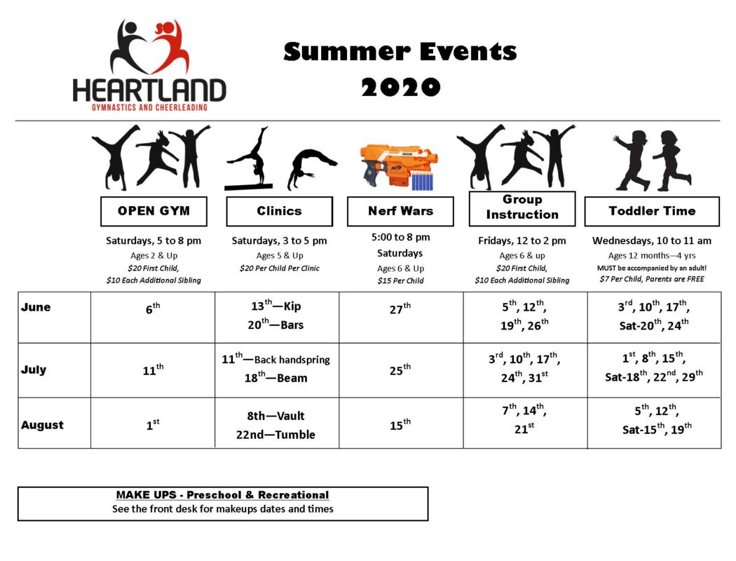 Summer Events 2020